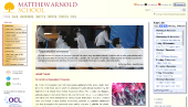 Matthew Arnold School Website