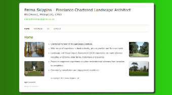 Emma Skippins - Freelance Chartered Landscape Architect